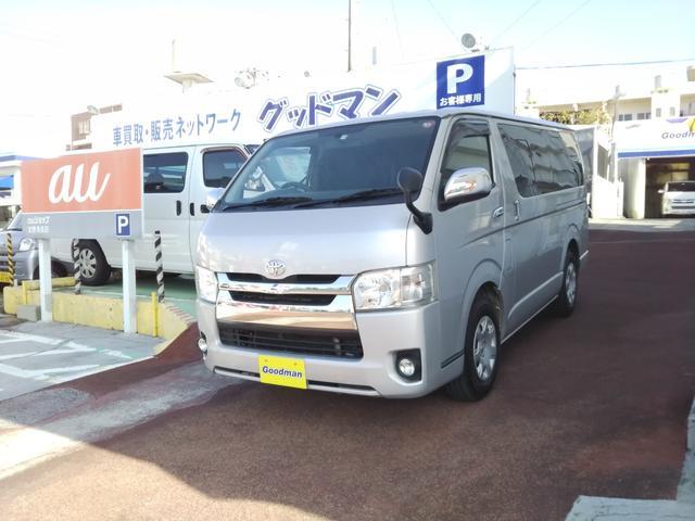沖縄の中古車 トヨタ レジアスエースバン 車両価格 189万円 リ済別 2015(平成27)年 17.4万km シルバー