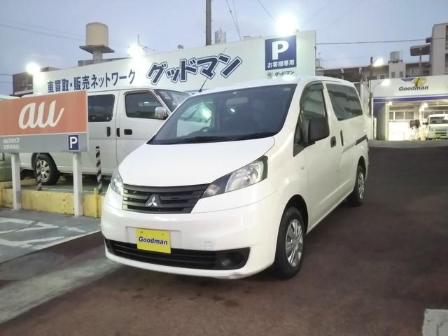 沖縄の中古車 三菱 デリカバン 車両価格 89万円 リ済別 2016(平成28)年 5.2万km ホワイト