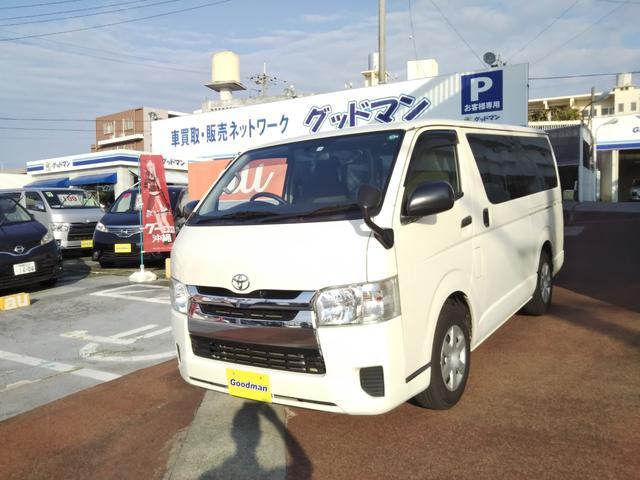 沖縄の中古車 トヨタ レジアスエースバン 車両価格 149万円 リ済別 2016(平成28)年 19.9万km ホワイト