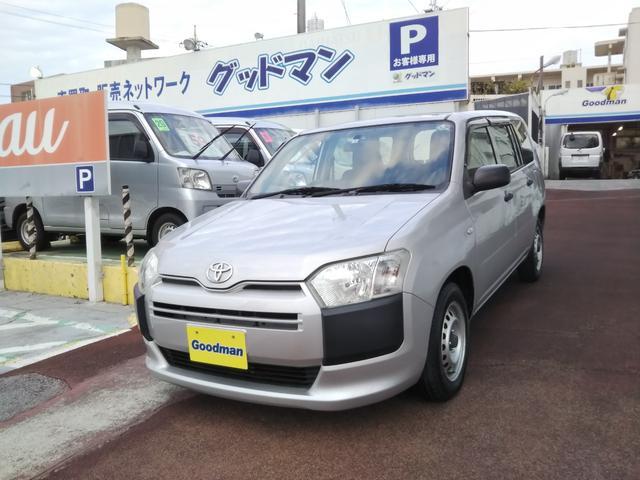 沖縄の中古車 トヨタ プロボックス 車両価格 65万円 リ済別 2015(平成27)年 5.9万km シルバー