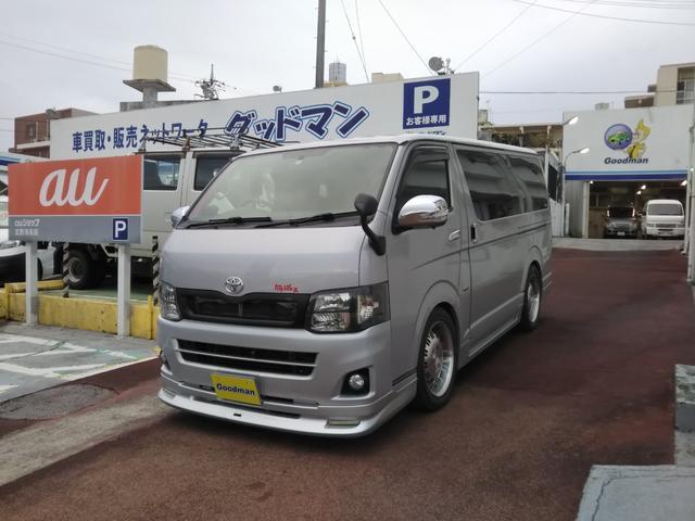 沖縄県の中古車ならハイエースバン ロングDX スーパーGL仕様車