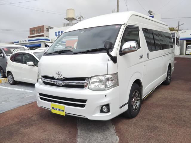 沖縄の中古車 トヨタ ハイエースワゴン 車両価格 149万円 リ済別 2012(平成24)年 14.4万km パールホワイト