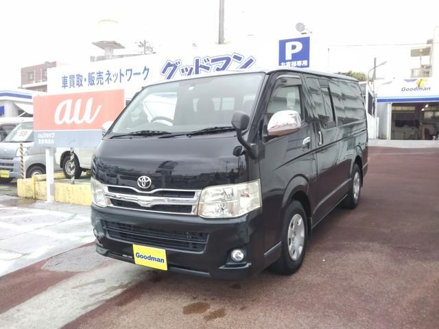 沖縄の中古車 トヨタ レジアスエースバン 車両価格 189万円 リ済別 2010(平成22)年 15.7万km ブラック