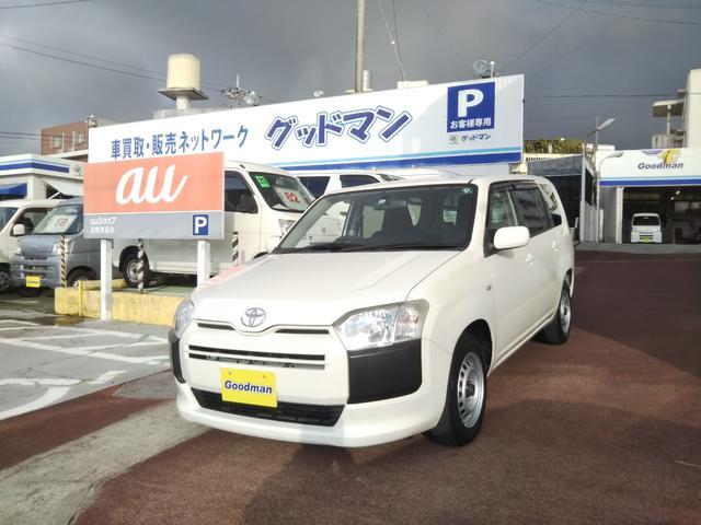 沖縄の中古車 トヨタ プロボックス 車両価格 75万円 リ済別 2016(平成28)年 6.4万km ホワイト