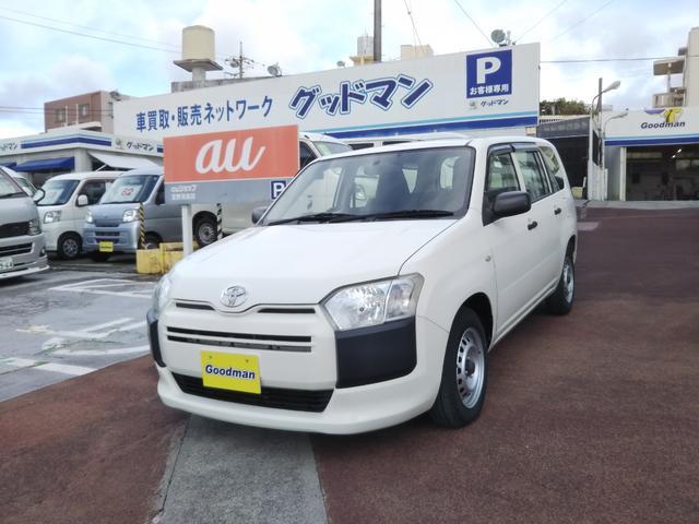 沖縄の中古車 トヨタ プロボックス 車両価格 65万円 リ済別 2016(平成28)年 7.3万km ホワイト