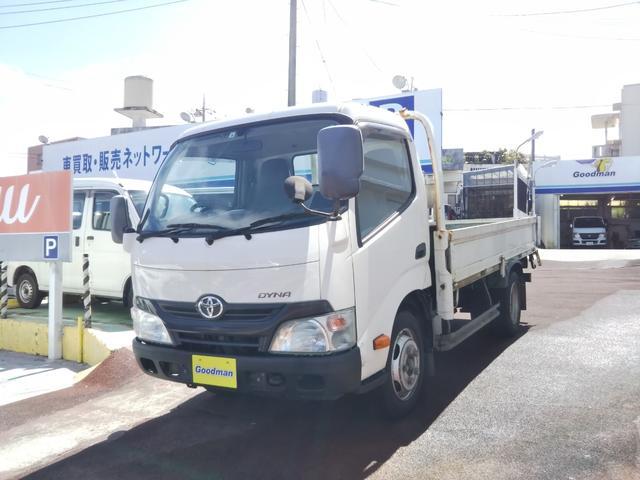 沖縄の中古車 トヨタ ダイナトラック 車両価格 129万円 リ済別 2014(平成26)年 19.8万km ホワイト