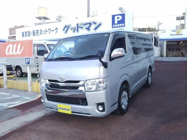 沖縄の中古車 トヨタ レジアスエースバン 車両価格 209万円 リ済別 2016(平成28)年 14.3万km シルバー