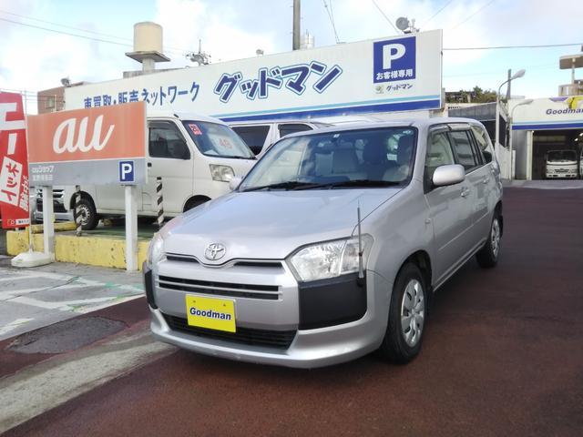 沖縄の中古車 トヨタ プロボックス 車両価格 89万円 リ済別 2016(平成28)年 4.8万km シルバー