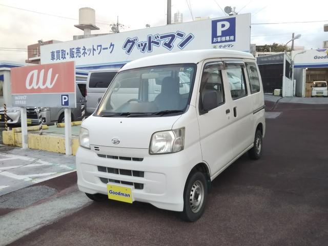沖縄の中古車 ダイハツ ハイゼットカーゴ 車両価格 49万円 リ済別 2013(平成25)年 5.2万km ホワイト