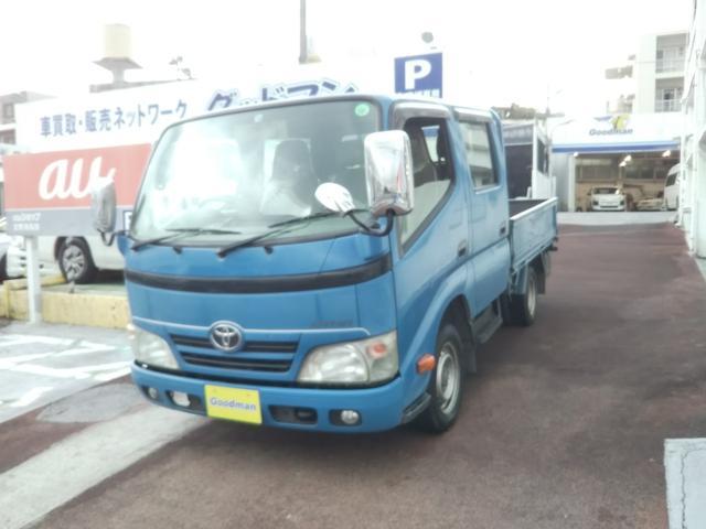 沖縄の中古車 トヨタ ダイナトラック 車両価格 129万円 リ済別 2012(平成24)年 14.1万km ブルー