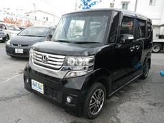 沖縄の中古車 ホンダ N BOXカスタム 車両価格 94万円 リ済別 平成25年 4.0万K ブラック
