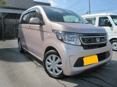 沖縄の中古車 ホンダ N−WGN 車両価格 65万円 リ済別 平成26年 4.0万K ピンク