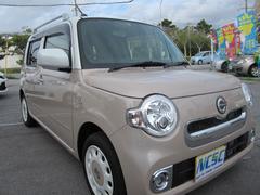 沖縄の中古車 ダイハツ ミラココア 車両価格 95万円 リ済別 平成27年 3.4万K ブラウンII