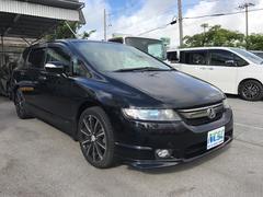 沖縄の中古車 ホンダ オデッセイ 車両価格 55万円 リ済別 平成20年 9.5万K ブラック