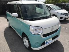 沖縄の中古車 ダイハツ ムーヴキャンバス 車両価格 150万円 リ済別 平成28年 1.5万K グリーンII