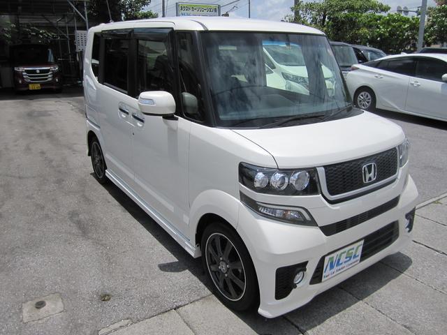 沖縄の中古車 ホンダ N-BOX 車両価格 146万円 リ済別 平成28年 1.7万km パールM