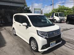 沖縄の中古車 ダイハツ ムーヴ 車両価格 111万円 リ済別 平成28年 1.8万K ホワイトII
