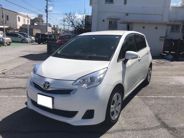 沖縄の中古車 トヨタ ラクティス 車両価格 90万円 リ済別 平成27年 3.6万km パールII