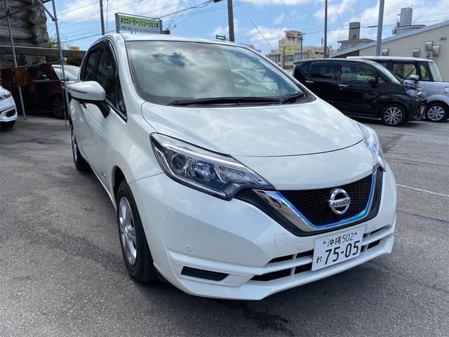 沖縄の中古車 日産 ノート 車両価格 140万円 リ済別 2018(平成30)年 2.9万km パールホワイト