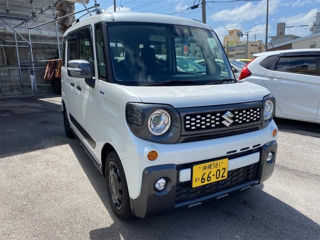 沖縄の中古車 スズキ スペーシアギア 車両価格 139万円 リ済別 2019(平成31)年 2.1万km パールホワイト