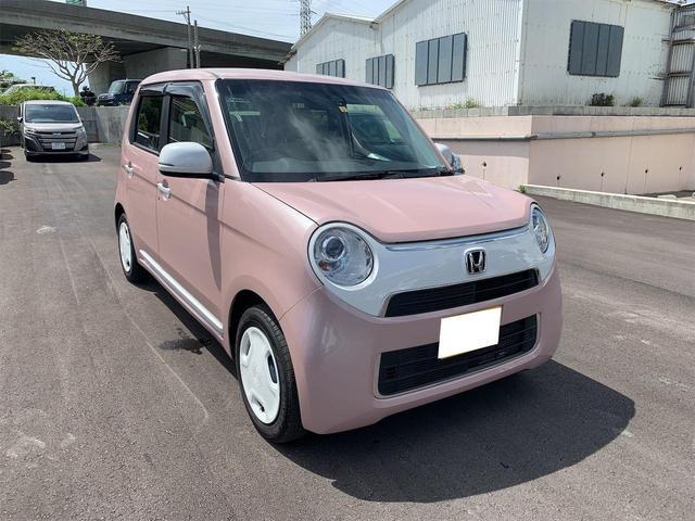 沖縄の中古車 ホンダ N-ONE 車両価格 98万円 リ済別 2019(平成31)年 1.6万km ピンク