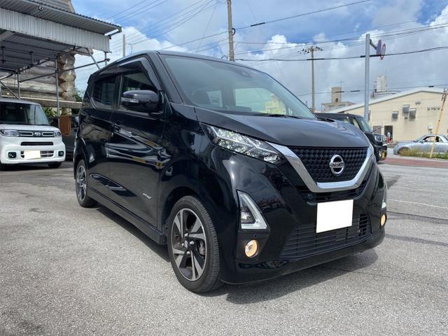 沖縄の中古車 日産 デイズ 車両価格 164万円 リ済別 2019(令和1)年 1.2万km ブラック