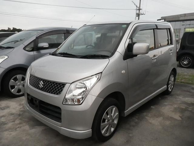 沖縄の中古車 スズキ ワゴンR 車両価格 52万円 リ済込 平成21年 9.8万km シルバー