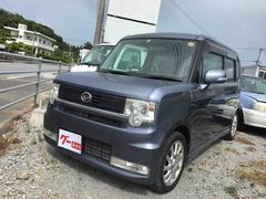 沖縄の中古車 ダイハツ ムーヴコンテ 車両価格 58万円 リ済込 平成20年 8.4万K ダークブルー