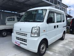 沖縄の中古車 スズキ エブリイ 車両価格 ASK リ済込 平成20年 11.3万K ホワイト