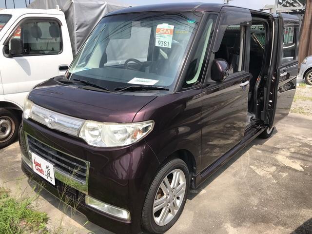 沖縄の中古車 ダイハツ タント 車両価格 63万円 リ済込 平成21年 9.6万km パープル