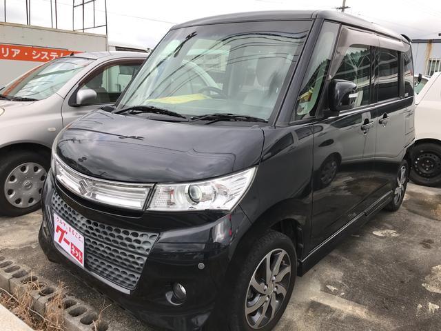 沖縄の中古車 スズキ パレットSW 車両価格 73万円 リ済込 平成24年 9.1万km グレー
