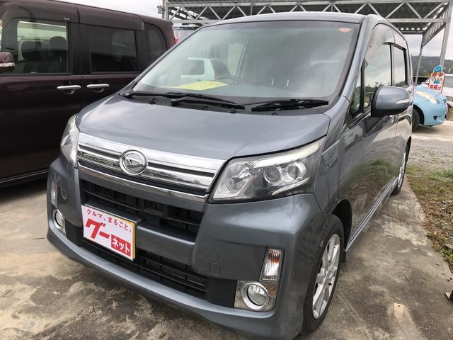 沖縄の中古車 ダイハツ ムーヴ 車両価格 73万円 リ済込 平成25年 6.2万km グレー
