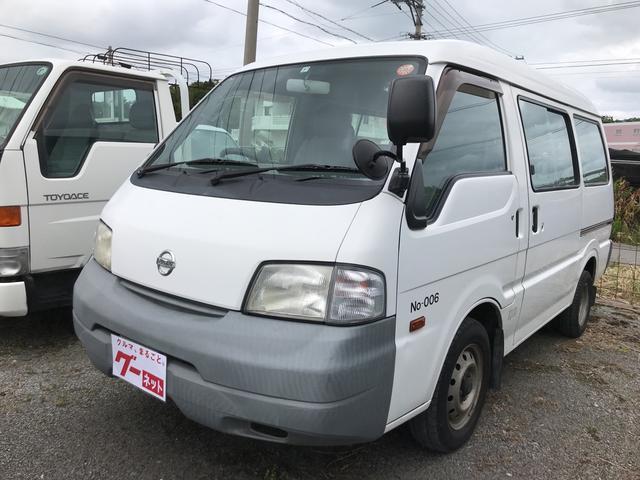 沖縄の中古車 日産 バネットバン 車両価格 35万円 リ済込 平成20年 11.2万km ホワイト