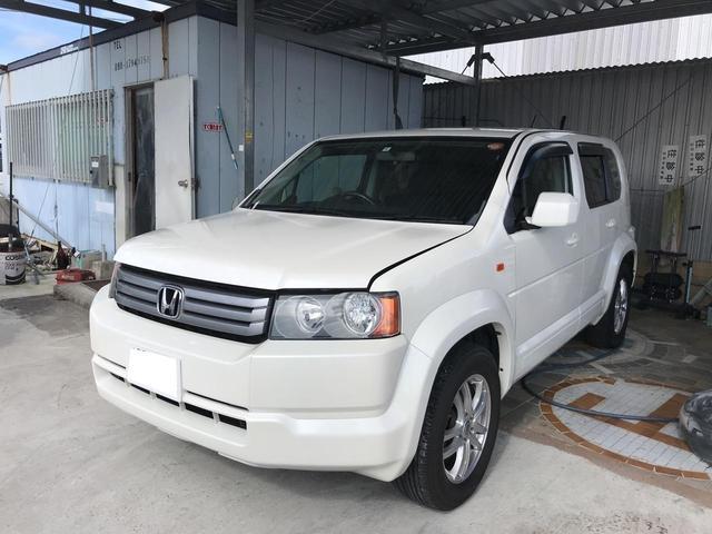 沖縄の中古車 ホンダ クロスロード 車両価格 ASK リ済込 2008(平成20)年 6.8万km パールホワイト