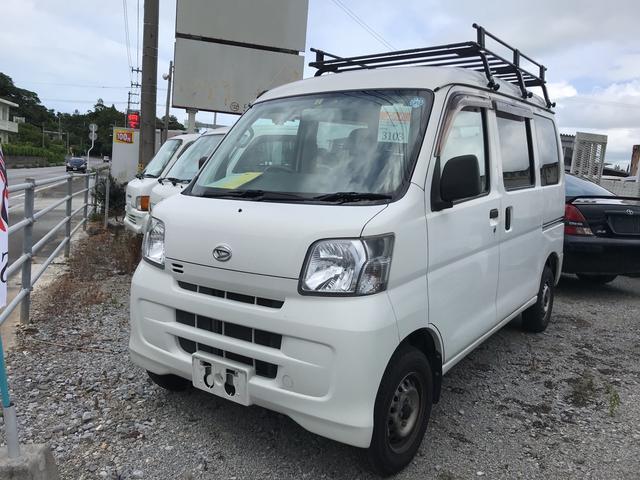 沖縄の中古車 ダイハツ ハイゼットカーゴ 車両価格 ASK リ済込 2014(平成26)年 10.1万km ホワイト