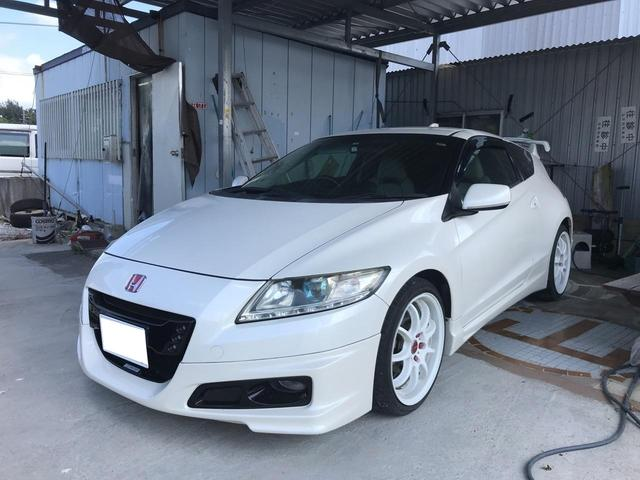 沖縄の中古車 ホンダ CR-Z 車両価格 85万円 リ済込 2010(平成22)年 9.9万km パールホワイト