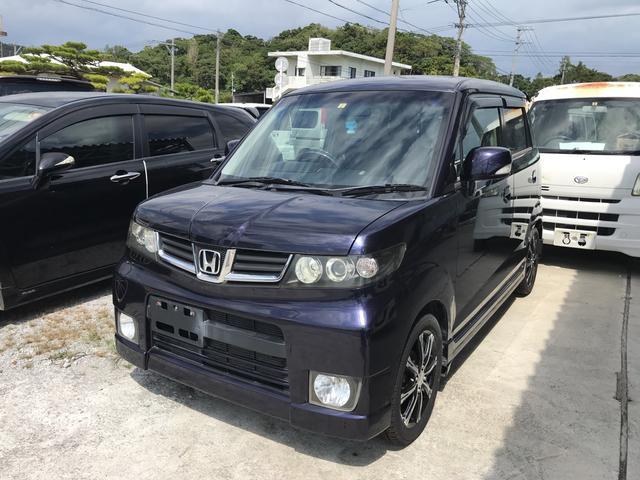 沖縄の中古車 ホンダ ゼスト 車両価格 46万円 リ済込 2010(平成22)年 9.8万km パープル