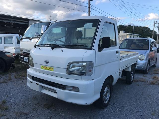 沖縄の中古車 ダイハツ ハイゼットトラック 車両価格 ASK リ済込 2003(平成15)年 10.4万km ホワイト