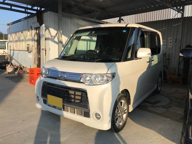 沖縄の中古車 ダイハツ タント 車両価格 ASK リ済込 2011(平成23)年 6.4万km パールホワイト