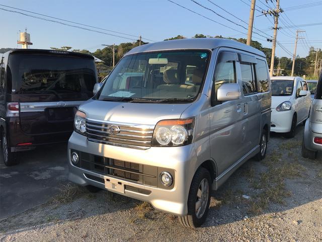 沖縄の中古車 ダイハツ アトレーワゴン 車両価格 72万円 リ済込 2013(平成25)年 9.8万km シルバー