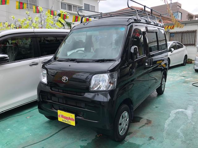 沖縄の中古車 トヨタ ピクシスバン 車両価格 79万円 リ済込 2015(平成27)年 4.6万km ブラックM