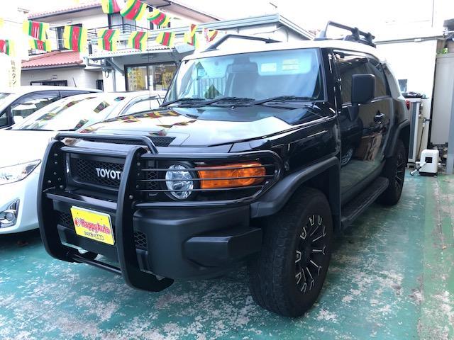 沖縄県の中古車ならFJクルーザー ブラックカラーパッケージ