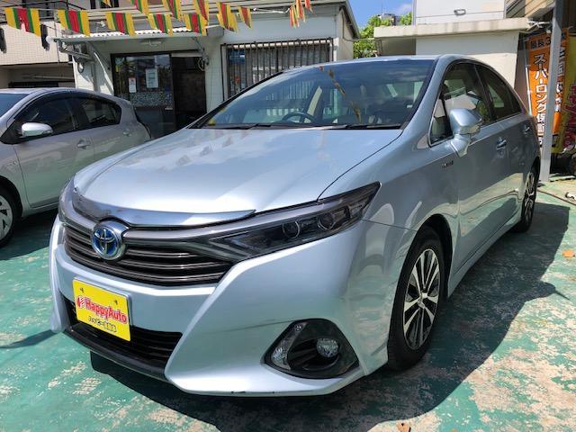 沖縄の中古車 トヨタ SAI 車両価格 129万円 リ済込 2014(平成26)年 8.7万km ライトブルーM