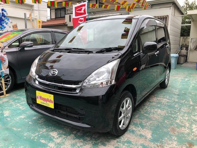 沖縄の中古車 ダイハツ ムーヴ 車両価格 42万円 リ済込 2011(平成23)年 9.2万km ブラックM