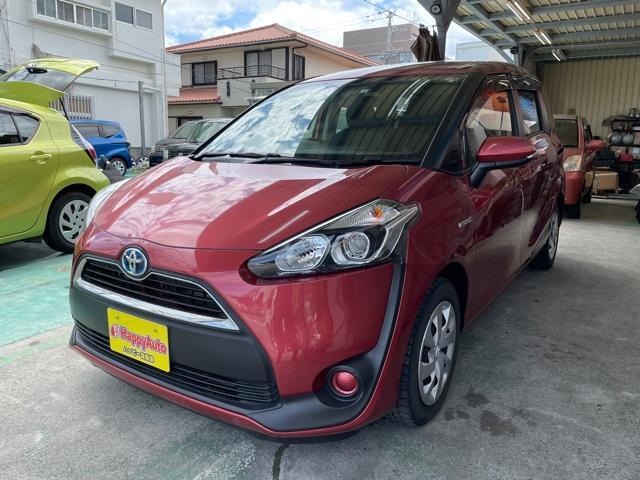 沖縄の中古車 トヨタ シエンタ 車両価格 149万円 リ済込 2016(平成28)年 5.5万km ピンクM