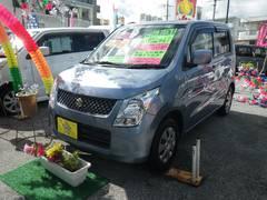 沖縄の中古車 スズキ ワゴンR 車両価格 37万円 リ済込 平成21年 6.7万K ライトブルー