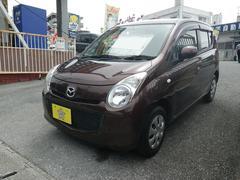 沖縄の中古車 マツダ キャロル 車両価格 43万円 リ済込 平成23年 8.1万K ブラウン