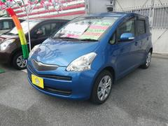 沖縄の中古車 トヨタ ラクティス 車両価格 43万円 リ済込 平成20年 5.8万K ブルーM