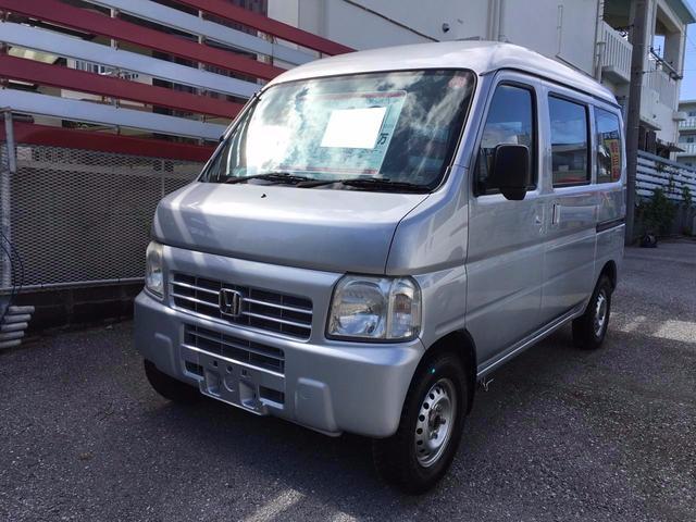 沖縄の中古車 ホンダ アクティバン 車両価格 39万円 リ済込 2009(平成21)年 8.9万km シルバー