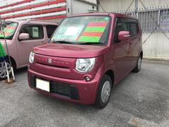 沖縄の中古車 スズキ MRワゴン 車両価格 69万円 リ済込 平成25年 4.5万K ピンクM
